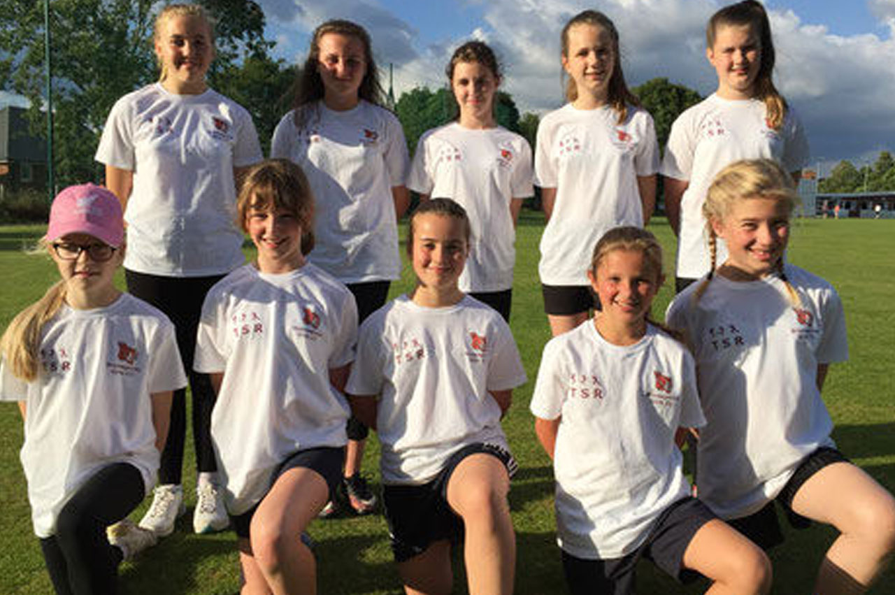 Champion Security sponsors local women and girls cricket team