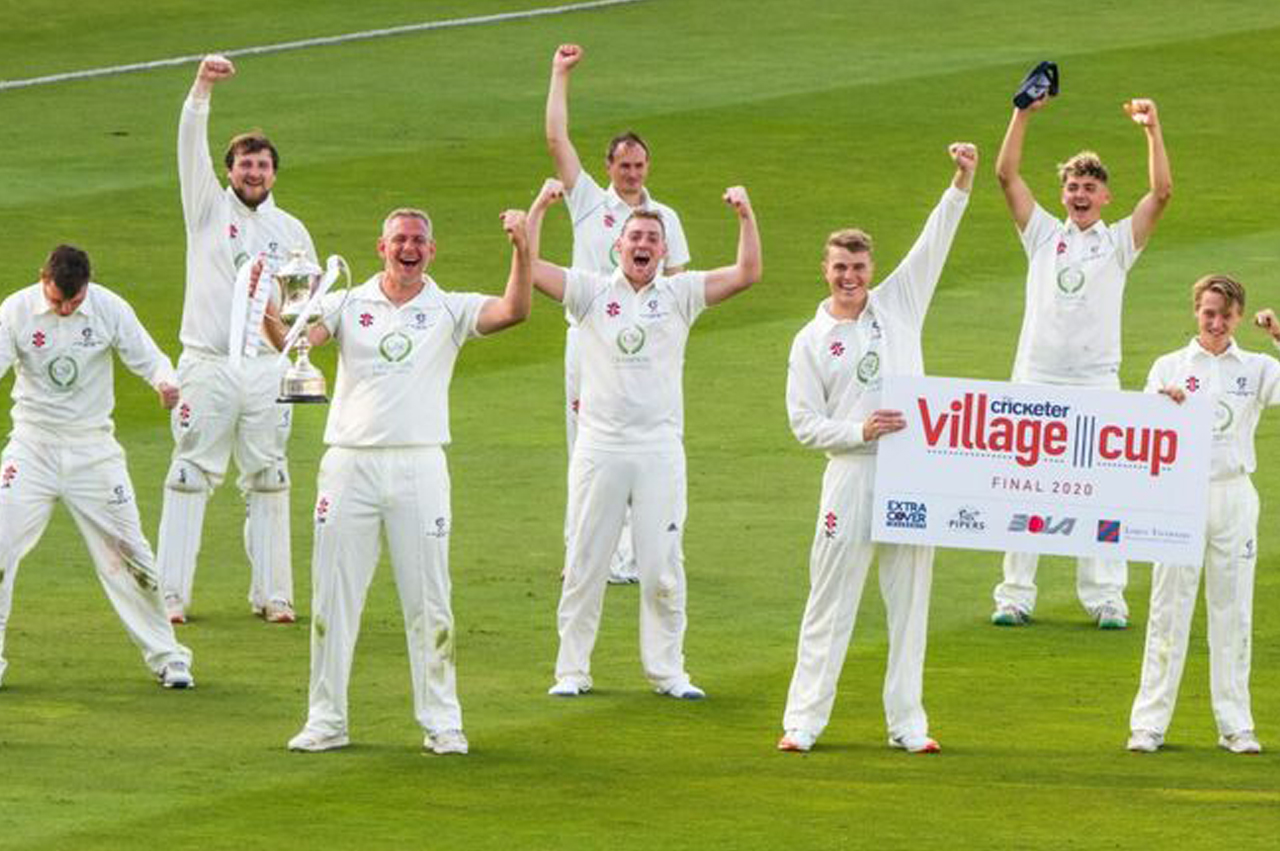 Worcestershire Cricket Club crowned Champions